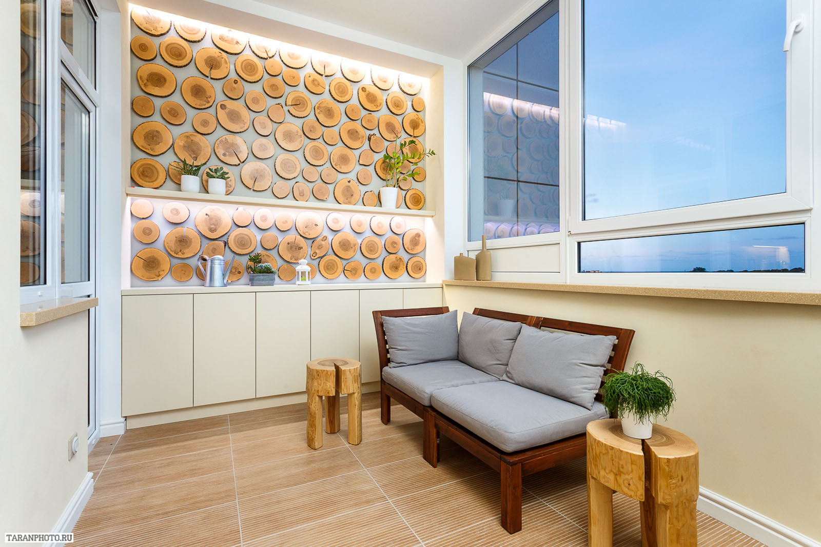 Дизайн балкона в квартире: фото ремонт квартир фото.